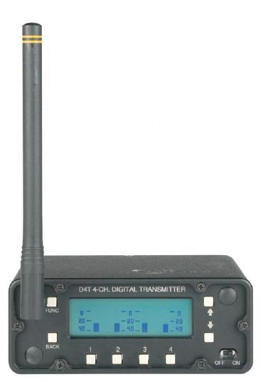 Digital Audio Transmitter, 4 Channel