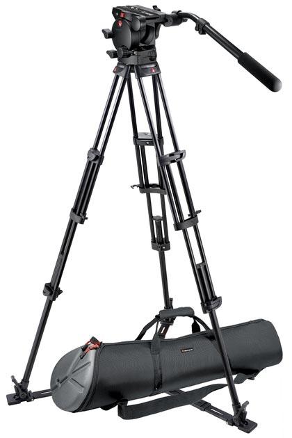 Tripod Kit with 526 Video Head and Tripod Bag