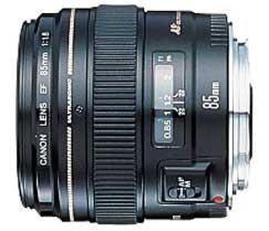 EF 85mm f/1.8 USM Medium Telephoto Lens