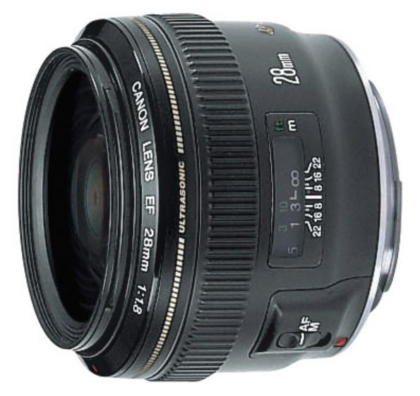 EF 28mm f/1.8 USM Wide Angle Lens