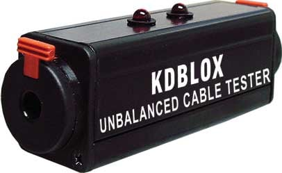 "Unbalanced 1/4"" Cable Tester BLOX"