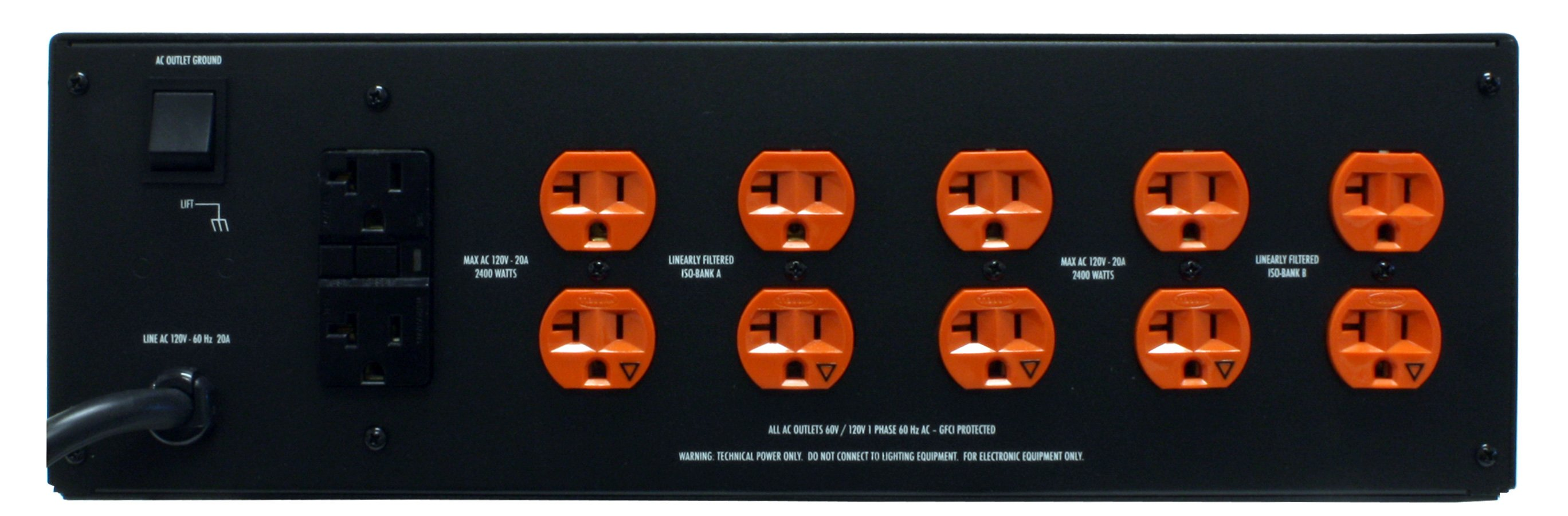 Symmetrically Balanced Power Conditioner, 20A, 14 Outlet