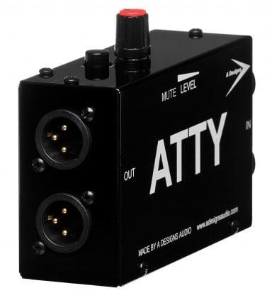 Passive Stereo Line Level Attenuator