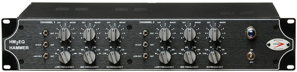 Dual Mono 3-Band Tube Equalizer