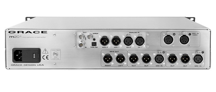 Dual Channel Microphone Preamplifier