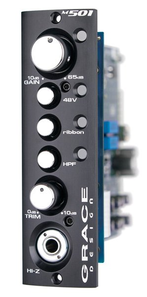 500 Series Single-Channel Preamp/DI Module