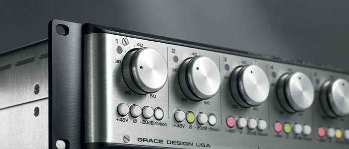 8 Channel Microphone Preamplifier