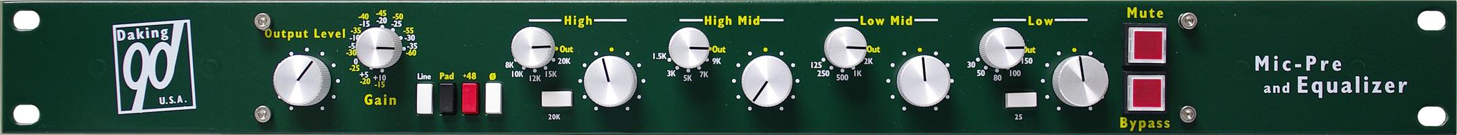 Mic Pre Amp w/EQ
