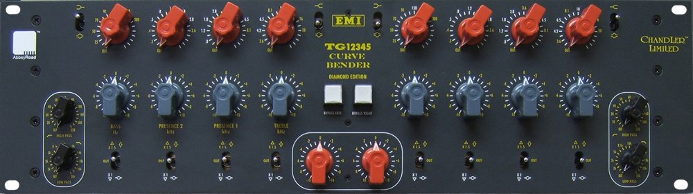 Equalizer, Based on EMI TG12345, 2 Channel, 4 Band Parametric, *Power Supply NOT Included