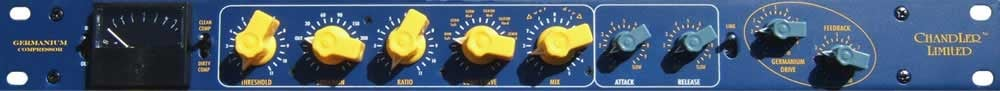 Compressor with Germanium and FET Drive, plus Blend and Curve Controls, *Power Supply NOT Included