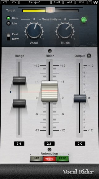 Automatic Vocal Level Rider Plugin