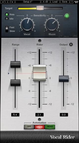 Automatic Vocal Level Rider Plugin
