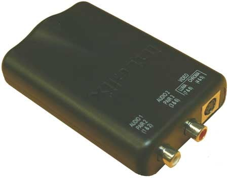 S-Video and Stereo Audio Balun