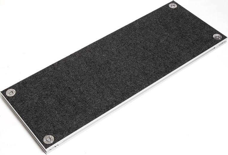 4ft W Carpeted Step Platform