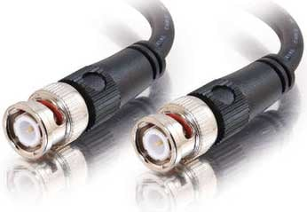 BNC to BNC cable, 75ohm, 12`
