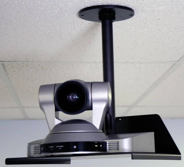 Short Drop-Down Ceiling Mount, for Large PTZ Cameras