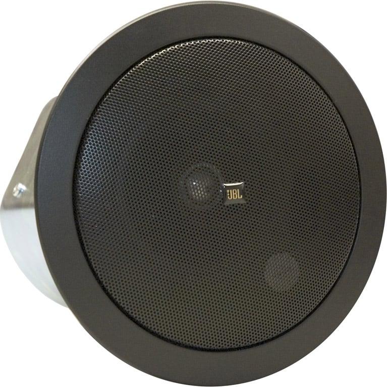 """4"""" 2-Way Ceiling Speaker with 70V/100V Transformer in Black"""