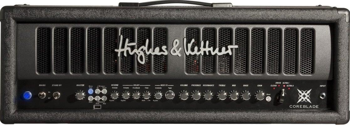 100W 4-Channel Tube Amplifier Head with Digital Effects