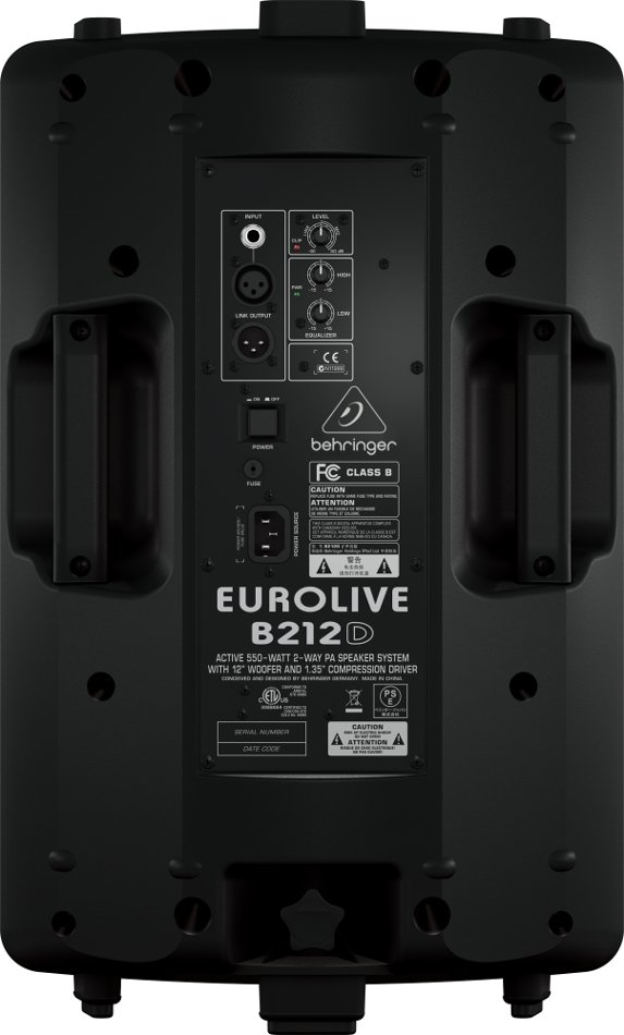"12"" 2-Way 550W Peak Active Loudspeaker"