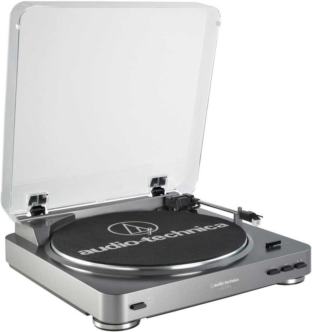 Fully Automatic Turntable with USB Output, Switchable Preamp, Cartridge, Audacity Software
