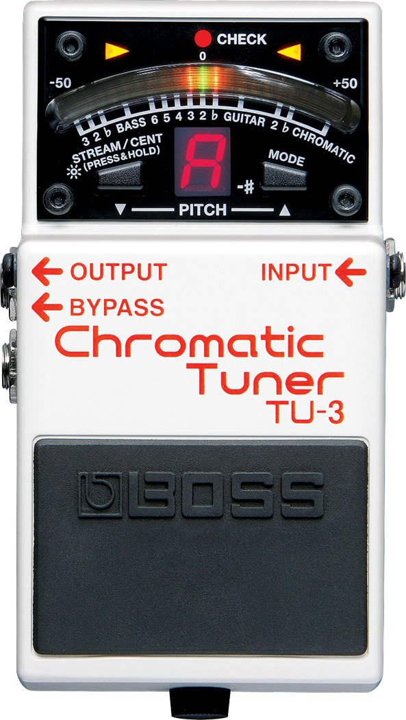 Boss TU3 Chromatic Tuner Pedal TU3