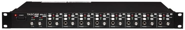 Amp Headphone 8 Ch Dual Stereo