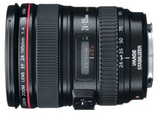 EF 24-105mm f/4 L IS USM Lens