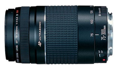 EF 75-300mm f/4-5.6 III Telephoto Zoom Lens