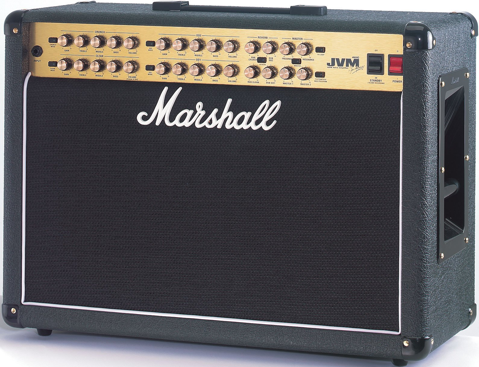 """Guitar Amp, Tube Combo, 4-Channel, 100W, 2x12"""""""
