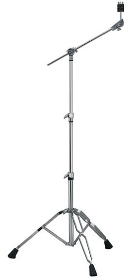 Cymbal Stand with Boom, Double Braced, Heavy Weight