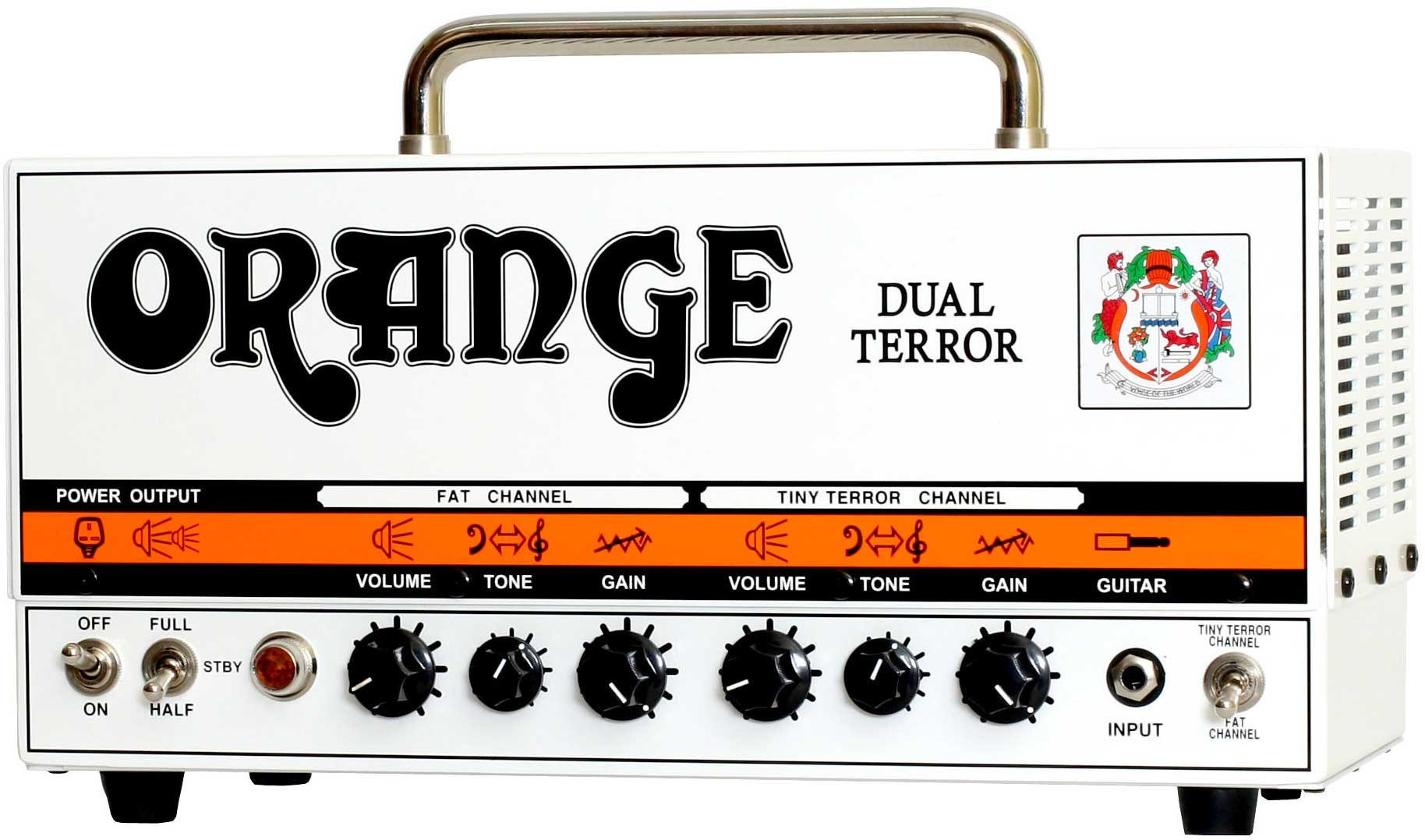Orange Amplification Dual Terror 30W 2-Ch Tube Guitar Amplifier Head DT30-H