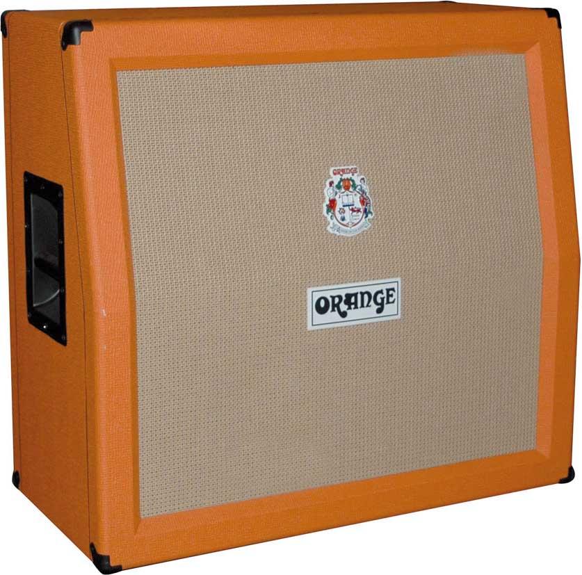 orange ppc412 a 4x12 240w guitar slant speaker cabinet with celestion vintage 30s full. Black Bedroom Furniture Sets. Home Design Ideas
