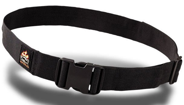 "Black 2"" Nylon Belt"