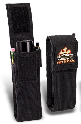 "Setwear SW-05-527 Mini Flashlight Pouch, 6"" x 2"" SW-05-527"
