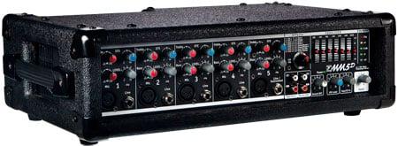 MicroMix 5 Channel Mixer Amp, 2x90 Watt