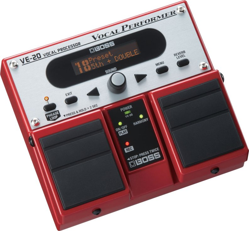 Vocal Performer Pedal