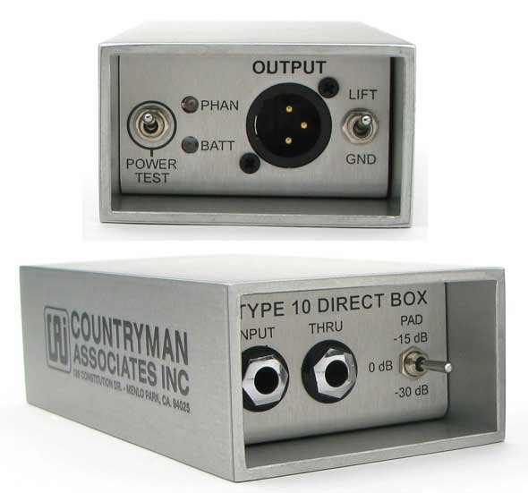 Type 10 FET Direct Box