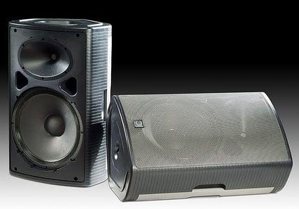 Portable Loudspeaker, 450W Class D Amp, 2 Channel Mixer