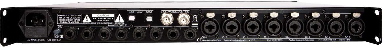 Mic Preamp, 8 Channel with ADAT I/O
