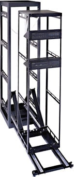 34-Space AXS Rack for Millwork & In-Wall Applications