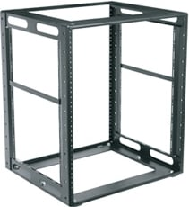 "Middle Atlantic Products CFR-10-16 10 RU, 16"" D Cabinet Frame Rack CFR-10-16"