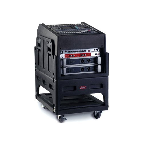 14RU Top/6RU Gig Rig Rolling Portable Rack