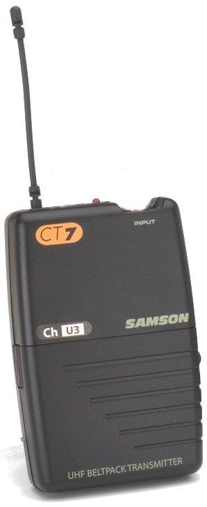 Concert 77 CT7 Beltpack Transmitter