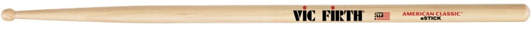 1 Pair of American Classic eStick Drumsticks with Wood Barrel Tip