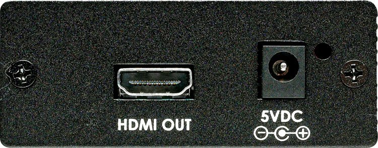 Format Converter DVI+SPDIF to HDMI (without Scaling)