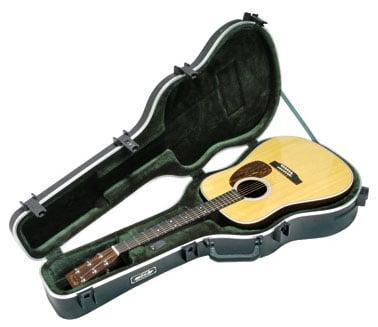 Deluxe Dreadnought Acoustic Guitar Case