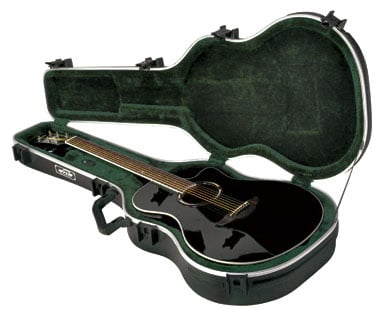Deluxe Hardshell Thinline Acoustic/Electric Guitar Case