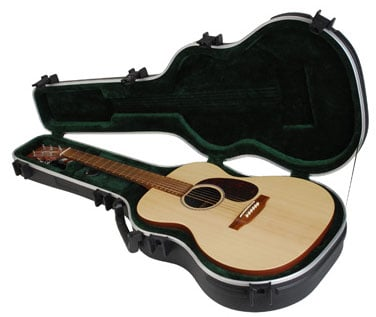 SKB Cases 1SKB-000 Hardshell 000 Acoustic Guitar Case 1SKB-000