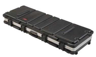 Hardshell ATA 76-Key Keyboard Flight Case with Wheels
