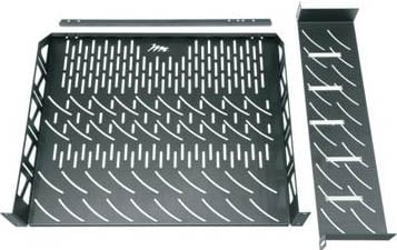 Vertical Rack Shelf System for Satellite/Cable Boxes